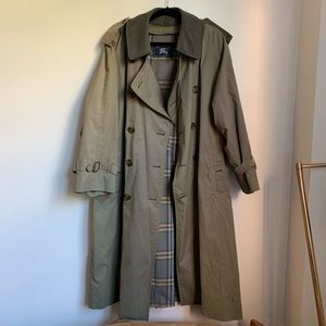 Vintage Burberry Trench Cot size 40 Short